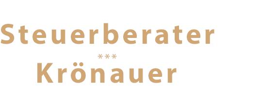 Steuerberater Krönauer